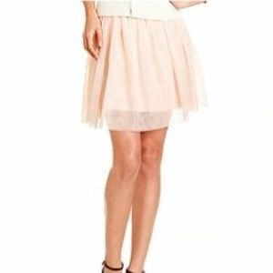 NWOT Blush Pink Peach Tulle Skirt